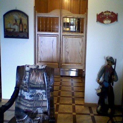 Kitchen Saloon Doors