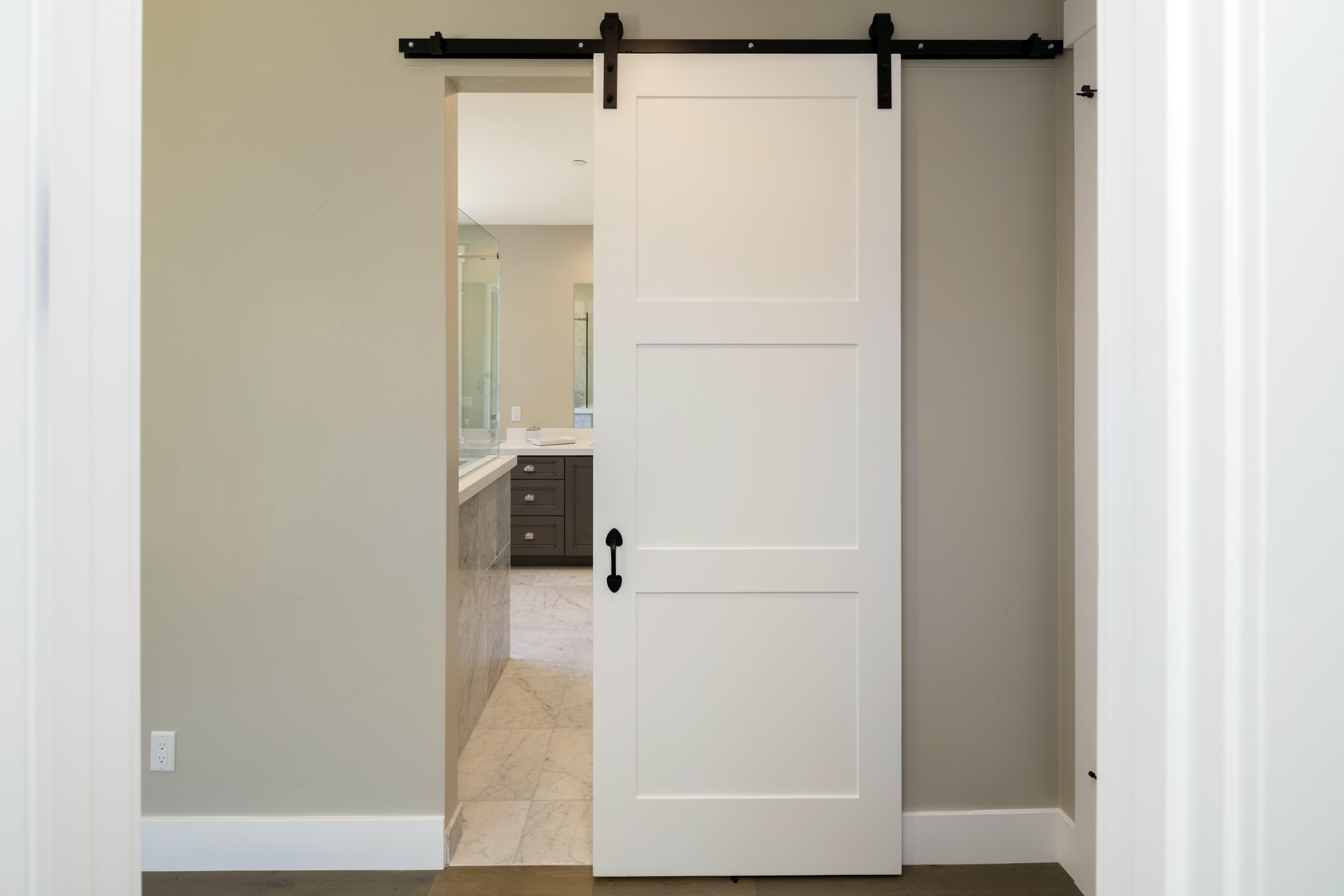 12 Ways To Design With Barn Style Doors Barn Doors Swinging Cafe Doors
